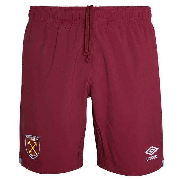 Pantalones West Ham United Replica Primera 2019/2020 Rojo